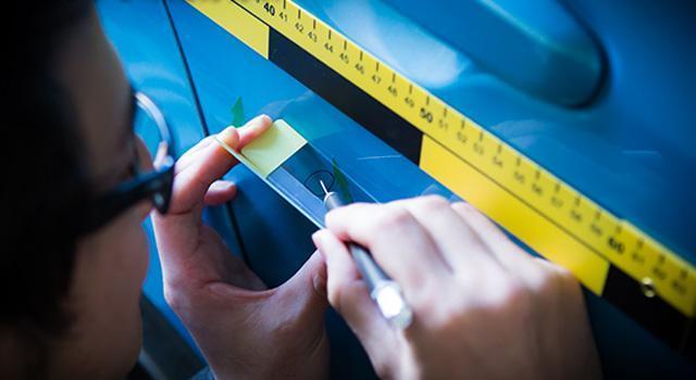 塗装&塗膜片からの分析