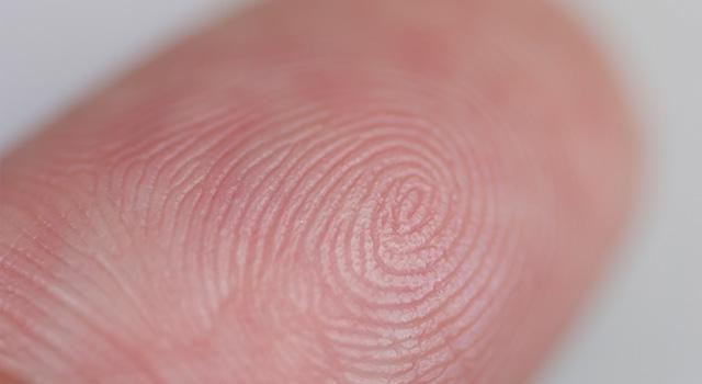 指紋鑑定とは