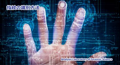 指紋の識別方法